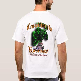 Crawlifornia Kustomz Orange & Green T-Shirt