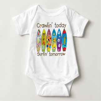 Crawlin' today..surfin' tomorrow ~ Graphic Tee