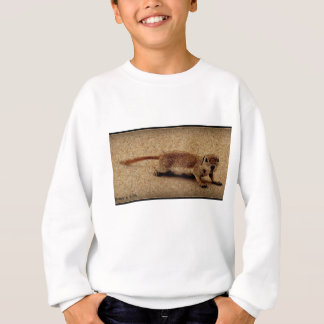 Crawling Ground Squirrel on Tee Shirt