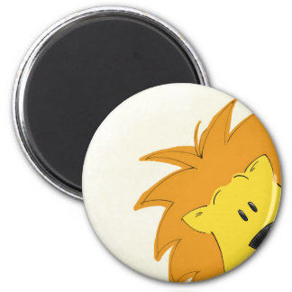 Crawling Through the Jungle Lally the Lion Refrigerator Magnets