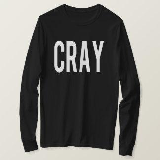 Cray Black LS Tee
