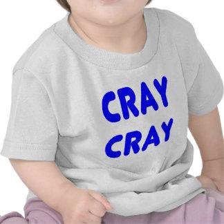 Cray Cray Internet Memes Royal Blue Tee Shirts