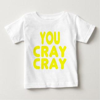 Cray Cray Yellow Internet Memes T-shirts
