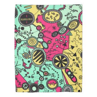 Cray Doodle Duvet Cover