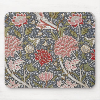 Cray Textile by William Morris Mouse Pad