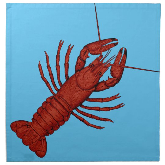 Crayfish Cloth Napkin