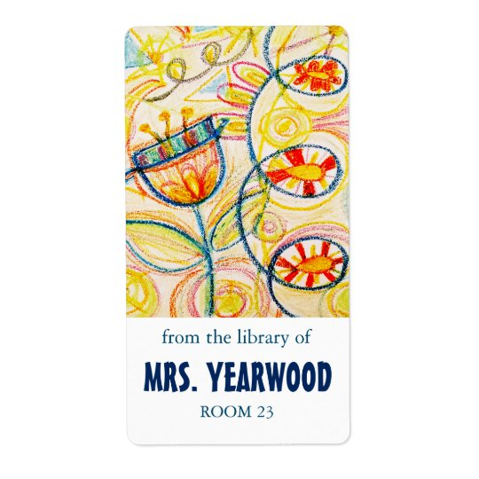 Crayon Art Bookplates