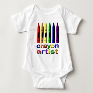 Crayon Artist Crayons Infant Creeper