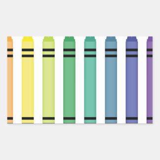 Crayon Colors Sticker