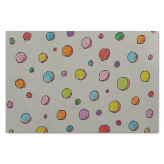 Crayon Dots Tissue Paper