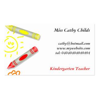 Crayon House Business Card Templates