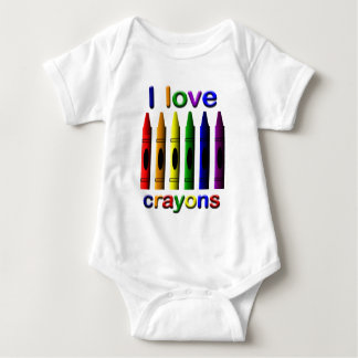 Crayon Love Crayons Infant Creeper