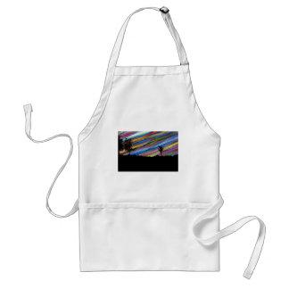 Crayon painting standard apron