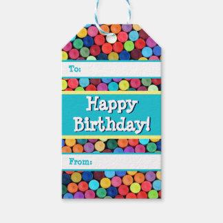 Crayon Polka Dot Gift Tags Pack Of Gift Tags