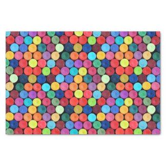 Crayon Polka Dot Tissue Paper