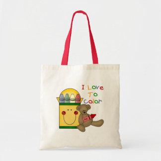 Crayon School Gift Tote Bag