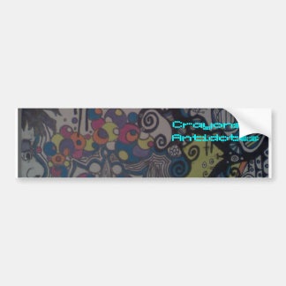 Crayons & Antidotes Bumper Sticker