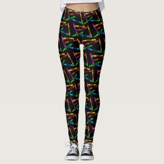 Crayons for Teachers Leggings