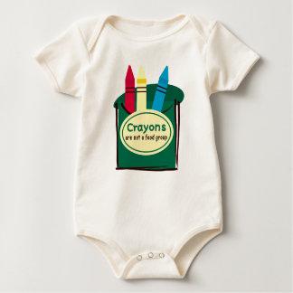 Crayons Fun Baby Bodysuit