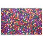 Crayons Kids Crayon  colourful Fabric