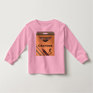 Crayons Toddler T-shirt