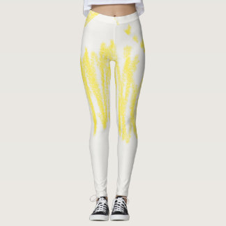 Crayons Yellow Leggings
