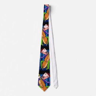 """CRAZED BY JAZZ"" TIE"