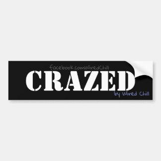 CRAZED sticker
