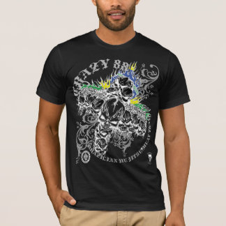 CRAZY 88 DEATH SKULL T-Shirt