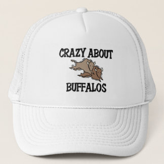 Crazy About Buffalos Trucker Hat
