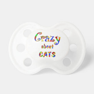 Crazy About Cats Pacifier
