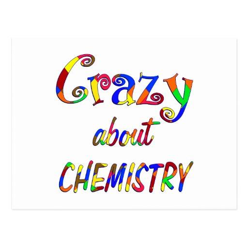 Crazy about Chemistry Postcards