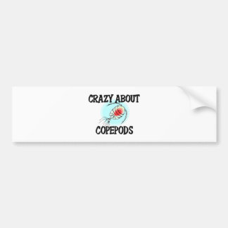 Crazy About Copepods Bumper Stickers
