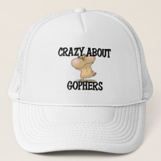 Crazy About Gophers Trucker Hat