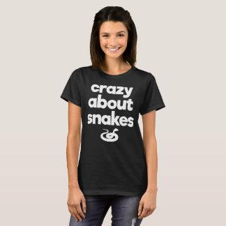 Crazy About Snakes Proud Reptile Parent T-Shirt