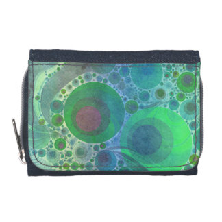 Crazy Abstract Denim Wallet