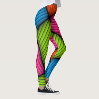 Crazy Abstract Funky Leggings