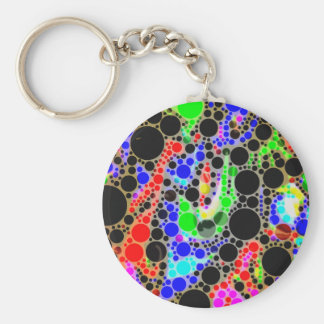 Crazy Abstract Keychain