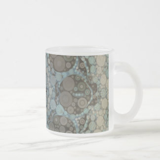 Crazy Abstract Pattern Frosty Mugs