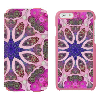 Crazy Abstract Pattern Incipio Watson™ iPhone 6 Wallet Case