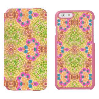 Crazy Abstract Incipio Watson™ iPhone 6 Wallet Case