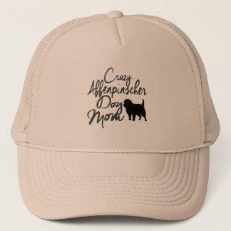 Crazy Affenpinscher Dog Mom Trucker Hat