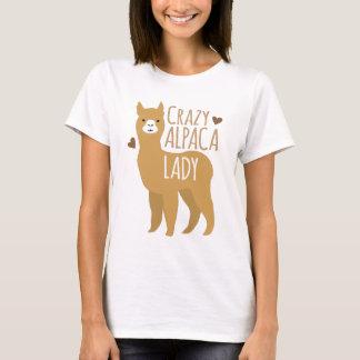 Crazy alpaca lady T-Shirt