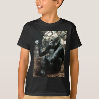 Crazy Ape Gorilla Animals T-Shirt