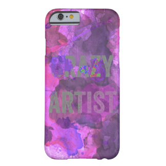 Crazy Artist Watercolor Barely There iPhone 6 Case