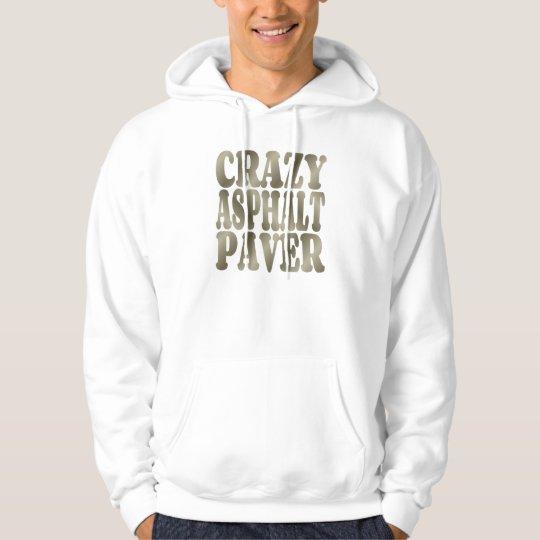 Crazy Asphalt Paver in Silver Hoodie