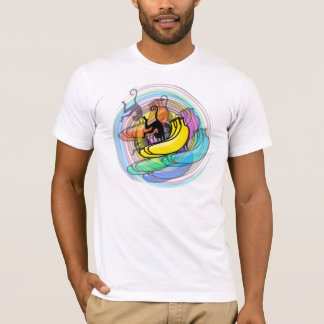 Crazy-ass Banana Monkey Amazeballs T-Shirt