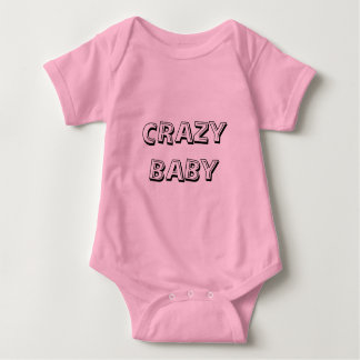 Crazy Baby Clothes Size For 18 Months Baby Bodysuit