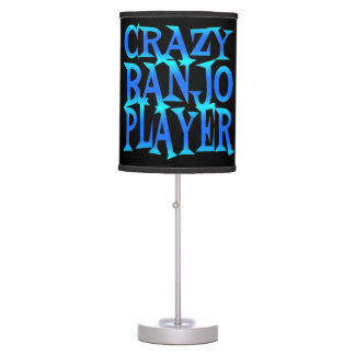 Crazy Banjo Player Table Lamp