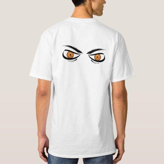 Crazy Basketball Eyes on Back T-Shirt